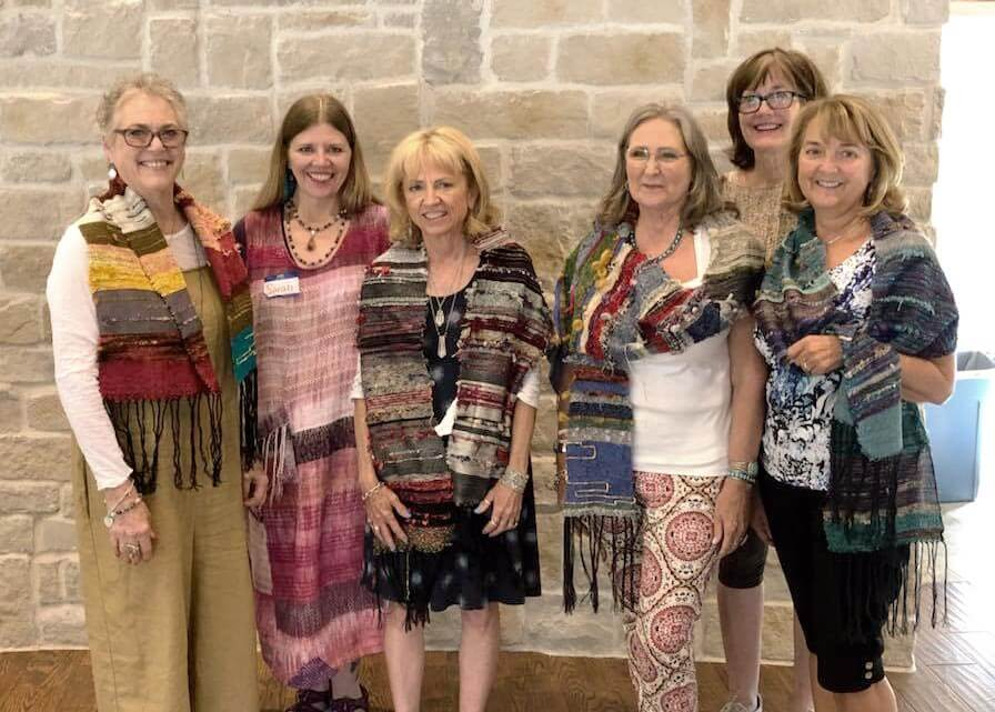 Recap: July 2018 Saori Weaving Workshop