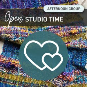 Open Studio Time - Every Thursday Afternoon!
