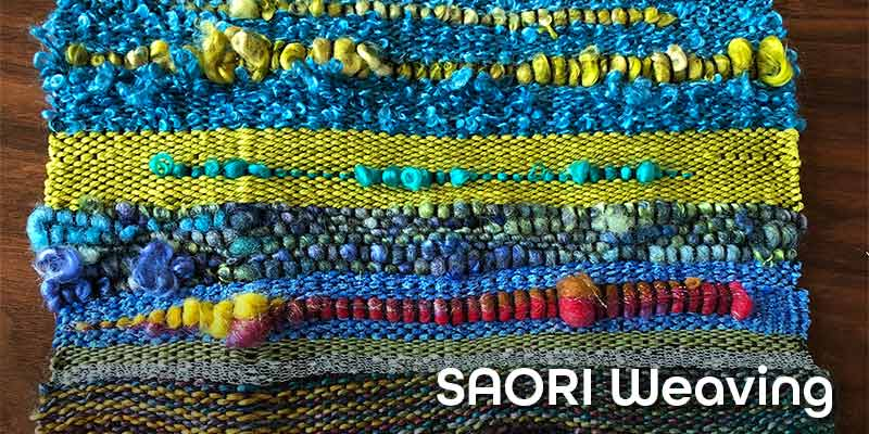 Experience SAORI Weaving with Kathy Utts