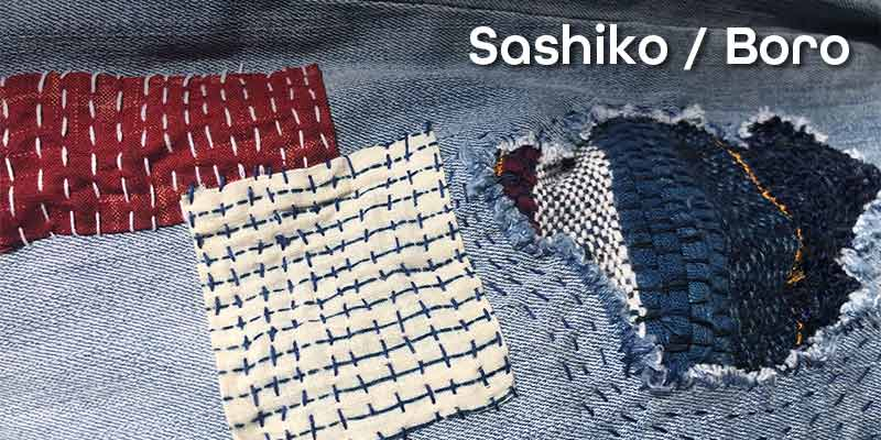 Japanese Sashiko/Boro-style Decorative Mending with Kathy Rothstein