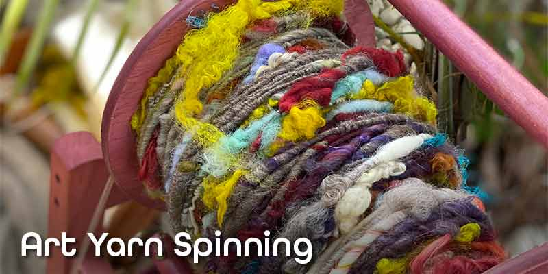 Art Yarn Spinning with Debra Lambert